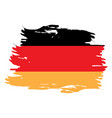 isolated german flag vector image