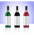 Wine bottles part 2 vector image
