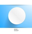 banner background White circle vector image
