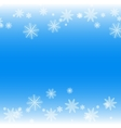 Simple but cute winter background vector image