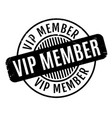 vip member rubber stamp vector image
