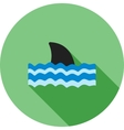 Dangerous Shark vector image