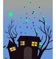 A haunted house vector image vector image