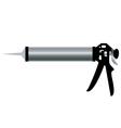 Aluminum Caulking Gun vector image