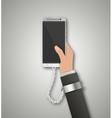 Modern phone addiction vector image