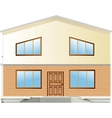 Real Estate For Sale facade vector image vector image