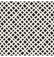 Seamless Hand Drawn Diagonal Grid Pattern vector image