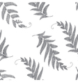 Branches and leaves grey vector image