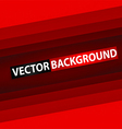 Abstract red rectangle paper background 380x400 vector image