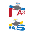 gas industry vector image