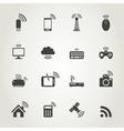 Icon communication7 vector image