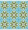 Seamless pattern Moroccan Portuguese tiles vector image