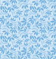 barberry seamless pattern silhouette of berry or vector image