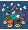 Great Britain Concept Composition vector image