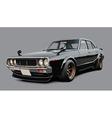 Classic Japanese Sportscar vector image