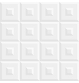 Abstract white grey seamless pattern vector image