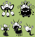 cartoon monsters vector image