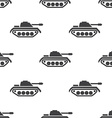 tank seamless pattern vector image