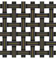 roads grid vector image vector image