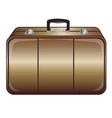Gray valise vector image