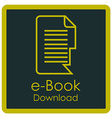 Ebook vector image
