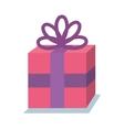 gift birhtday present icon vector image