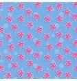 Seamless sea pattern with starfish Pattern vector image