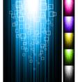 line shine vertical background vector image