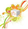 Fresh Summer on Box vector image
