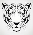 Tiger Tattoo Design vector image vector image