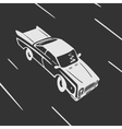 Car goes Symbol vector image