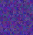 Abstract triangular purple pattern or background vector image