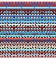 Geometric aztecs pattern vector image