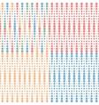 set halftone seamless vector image