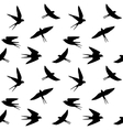 spring birds vector image