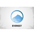 Mountain Logo design Everest logo Mountain vector image
