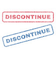 discontinue textile stamps vector image