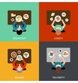 Meal Time Set vector image