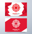 Vision eye symbol icon vector image