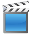 film slate background vector image