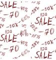 Big sales background vector image