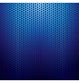 Blue metallic grid background vector image