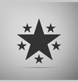 star icon favorite best rating award symbol vector image