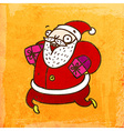 Father Christmas Cartoon vector image
