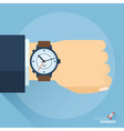 business time abstract vector image