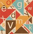 Typographic Design vector image