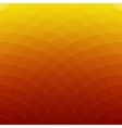 Abstract orange and yellow round lines background vector image
