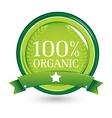 100 organic vector image vector image