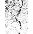 Cracked Grunge Background vector image