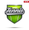 Premium symbol of Tennis label vector image